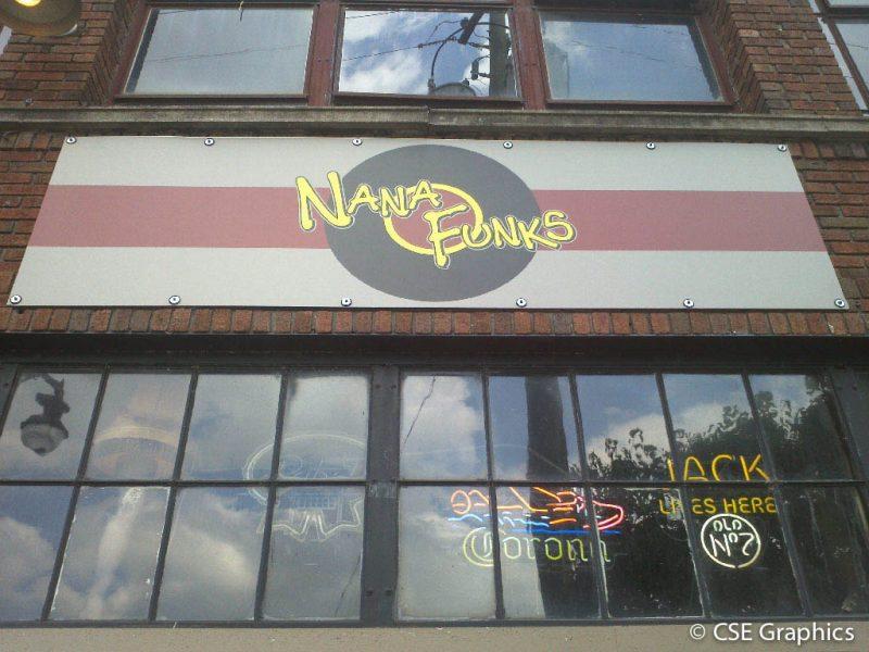 Nana Funks Metal Sign