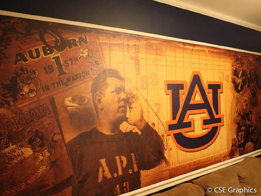 Auburn Wall Graphic