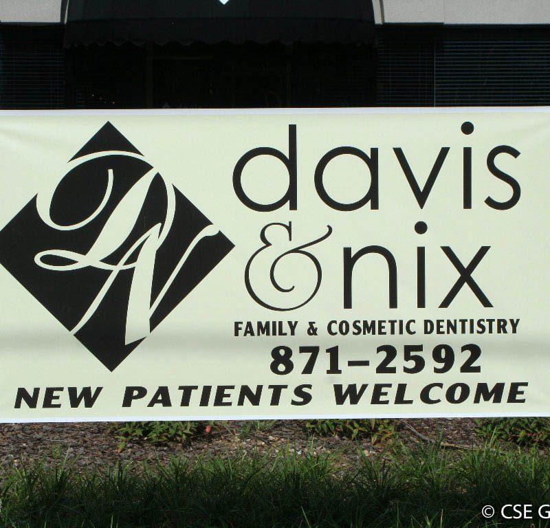 Vinyl David & Nix Banner