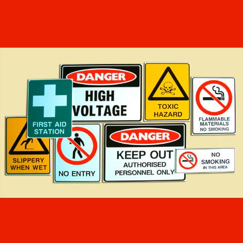 Custom Compliance Signs